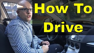 How To Drive A Car For Beginners Driving Lesson