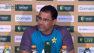 Waqar defends fast bowlers after Australian domination
