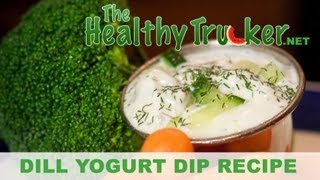 Healthy Vegetable Dip On The Road - Truck Driver Recipes