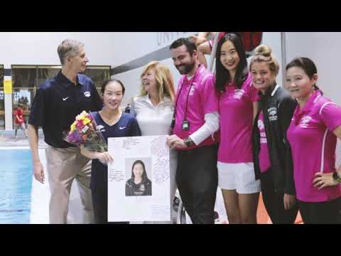 Senior Day for Nevada Swim and Dive