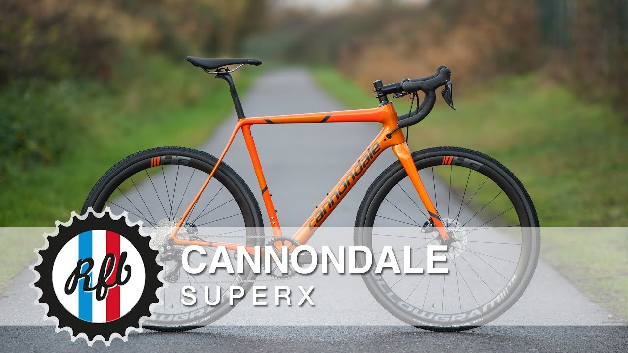 Cannondale SuperX Cyclocrosser - YouTube