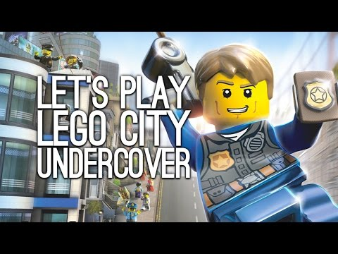 Let's Play Lego City Undercover: Single Player and Co-Op | Peep Peep! We're the Police!