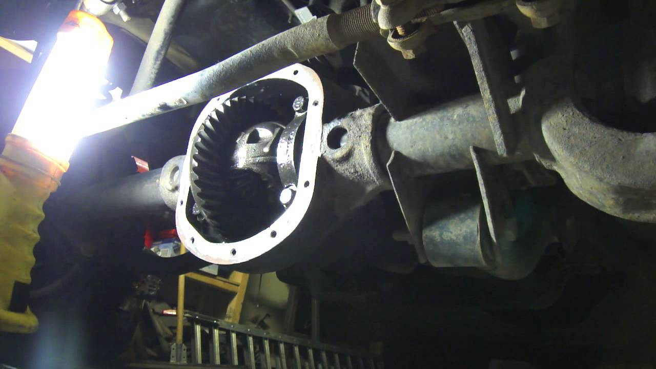 Front Differential Oil Change And Inspection Youtube