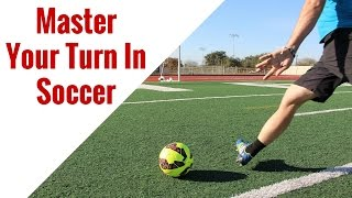 Soccer Drills: Receiving and Turning With The Soccer Ball