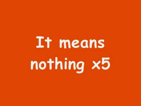 Stereophonics ~ It Means Nothing with lyrics