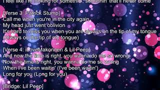 🎵 Lil Peep ft. Fall Out Boy – I've Been Waiting (LYRICS) Video