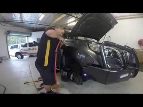 Drivetech 4x4 Safari Snorkel Install