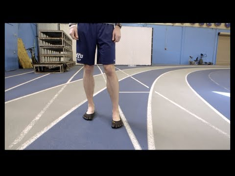 Caution on 'barefoot' running shoes; BYU study shows elevated injury risk