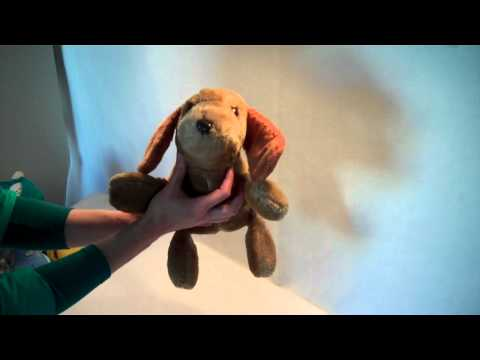 Vintage 1978 Mattel Hug n' Talk Napper the Dog Plush toy