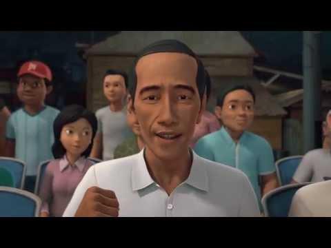 Adit & Sopo Jarwo - Nonton Film Indonesia Bareng Jokowi