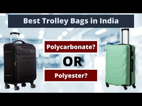 Best Trolley Bags in India 2021 - Review & Buying Guide | VIP, SAFARI, SKYBAGS Bags Comparison