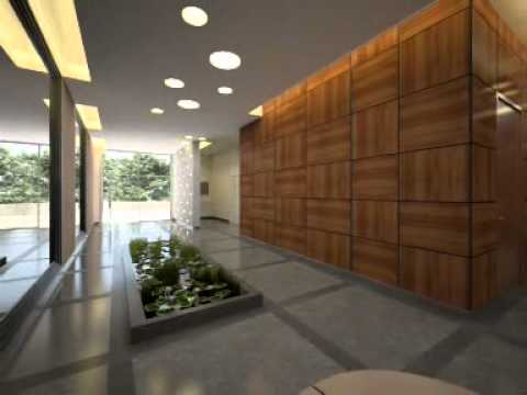 Bon ApartmentsIsrael.com   Mishkenot Hau0027Uma Luxury Jerusalem Apartments For  Sale   Building Lobby   YouTube