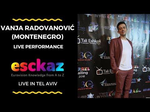 ESCKAZ in Tel Aviv: Vanja Radovanovic (Montenegro) - Inje (live at Israel Calling)