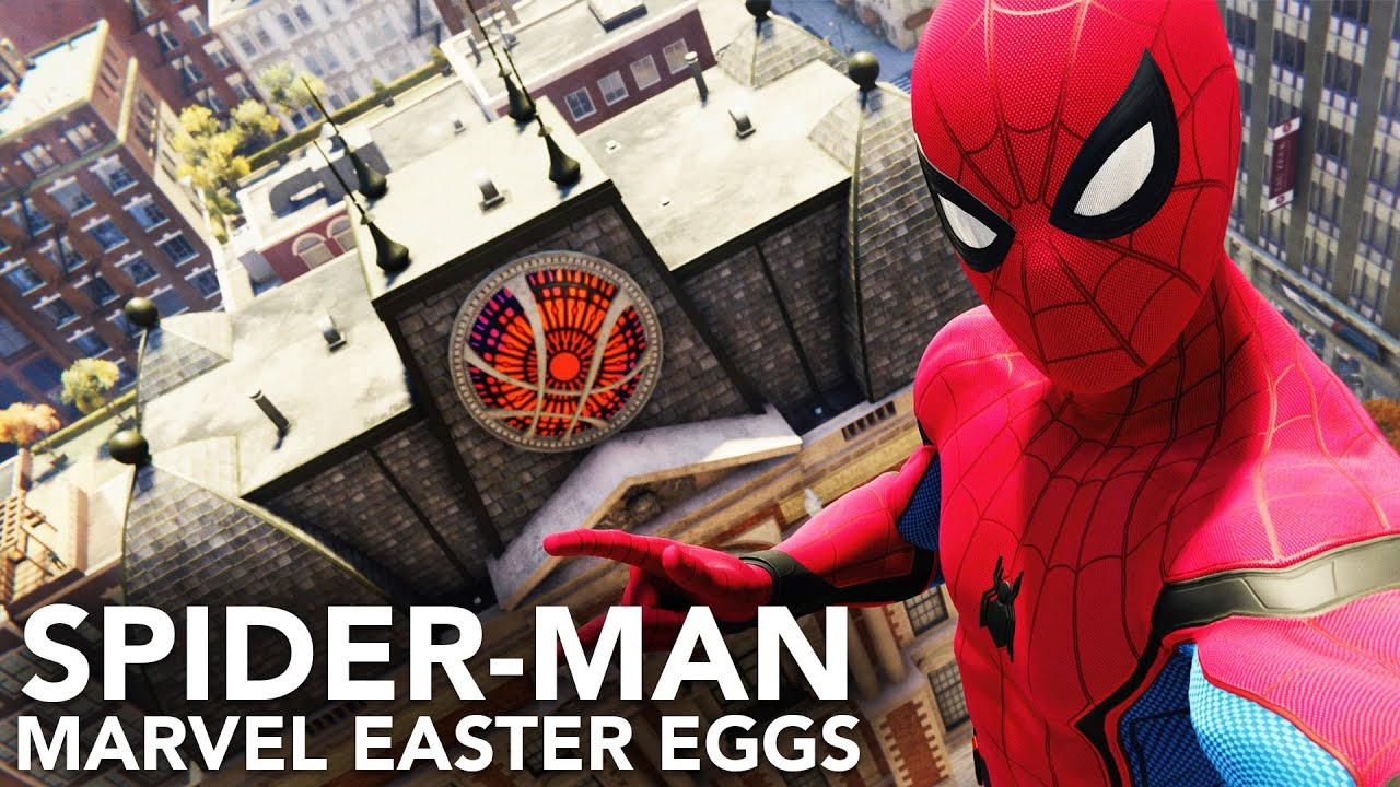 Easter Eggs Spider Man Ps4