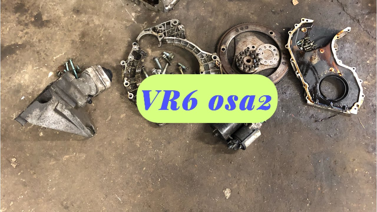 2.8 VR6 (turbo) Projekt - Vajalikud tükid V5 küljest - VLOG
