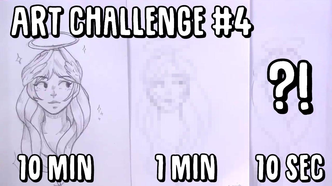 The Line Art Challenge : Art challenge min sec youtube