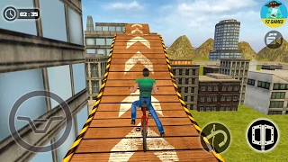 Rooftop Bicycle Stunt Rider 3D Android GamePlay FHD