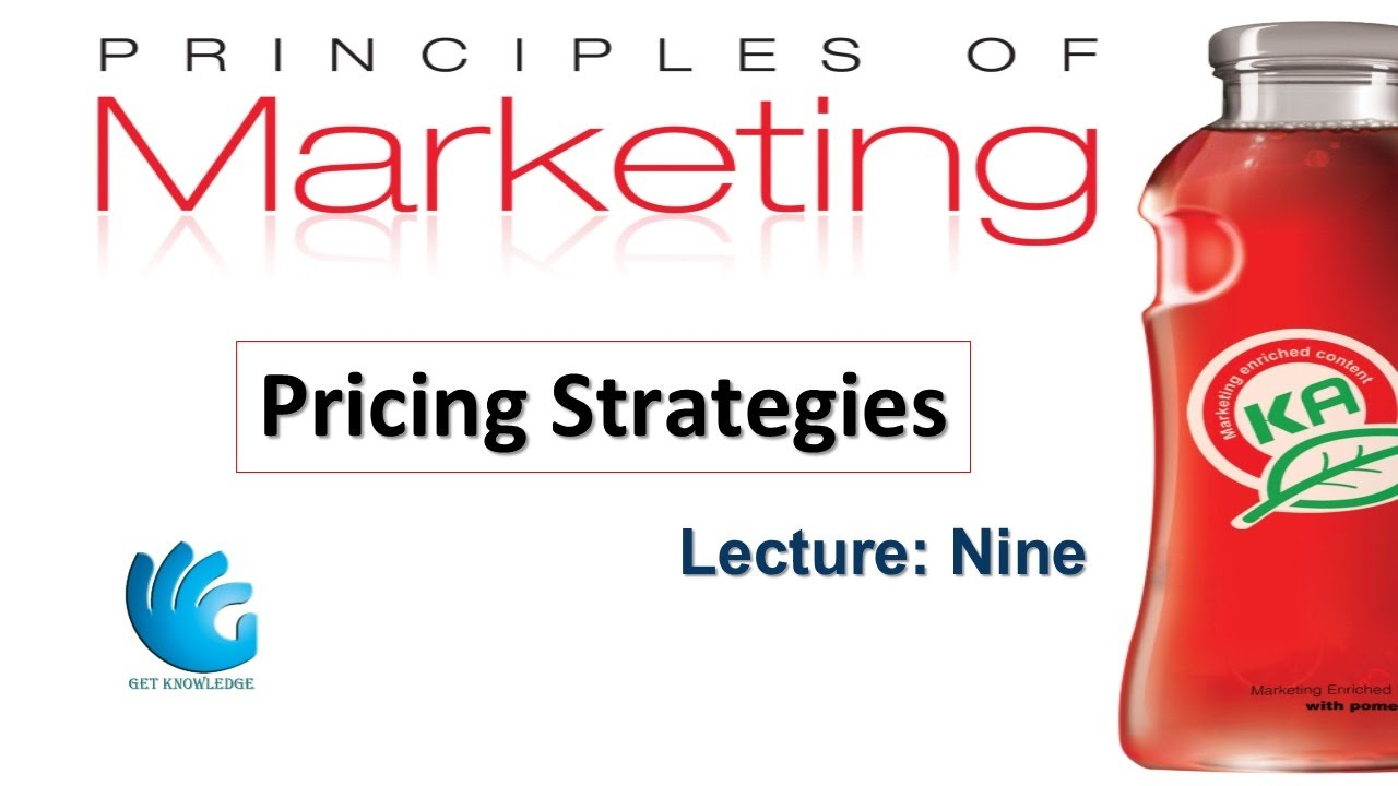 pricing marketing This presentation provides an in-depth discussion on pricing strategy pricing is the core marketing component to any successful produce or service.