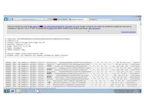 [2011] Hacking con Buscadores: Google, Bing y Shodan