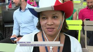Mondial 2018 : Sodexo à l'heure des Bleus