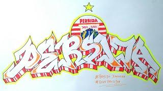 Cara Membuat Graffiti Persija Jakarta