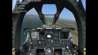 DCS A-10C warthog gameplay part2