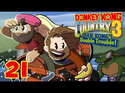 Donkey Kong Country 3 | Let's Play Ep. 21 | Super Beard Bros.