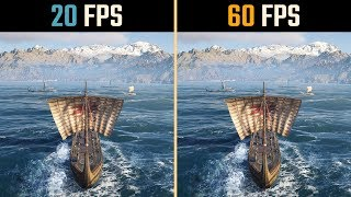 20 FPS vs. 60 FPS Gaming