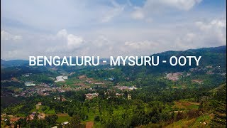 Bengaluru - Mysuru - Ooty | South India Travel video