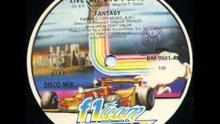 Fantasy Live The Life I Love 12 Inch 1983