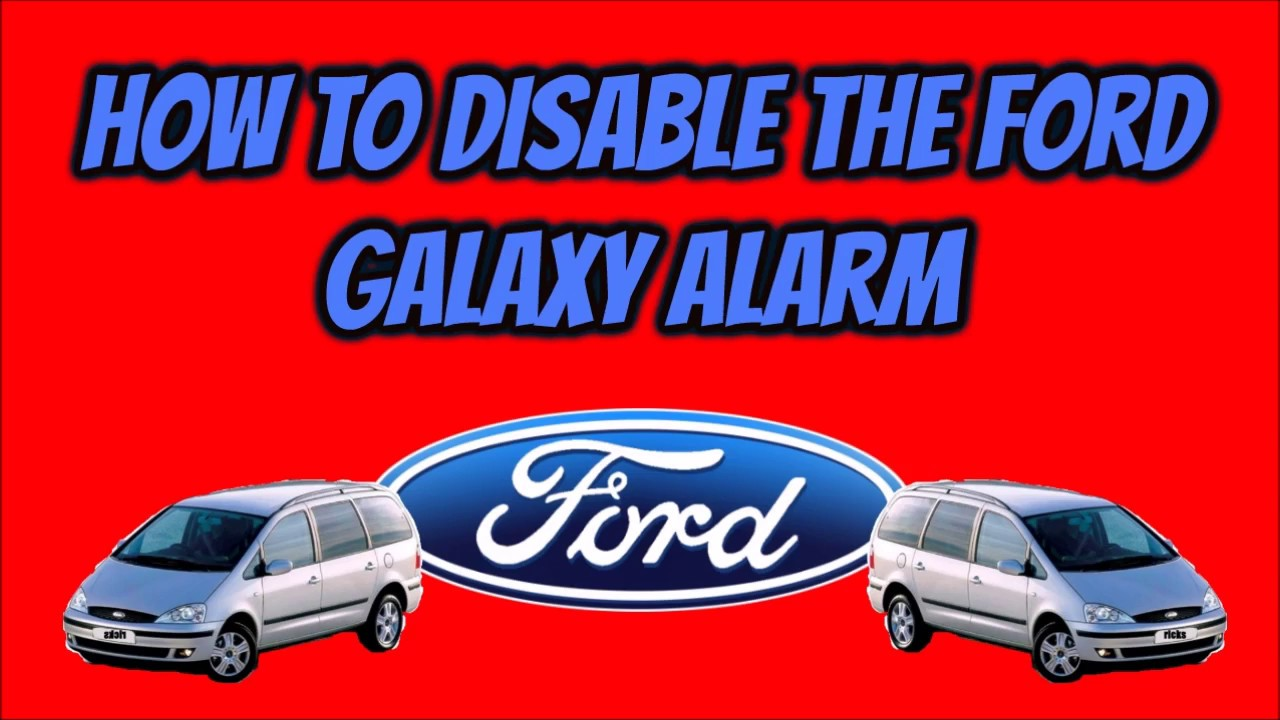 ford galaxy mk2 wiring diagram solar water heater schematic central locking all how to disable the alarm youtube