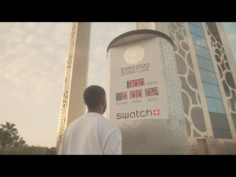 Swatch launches 300-day countdown to Expo 2020