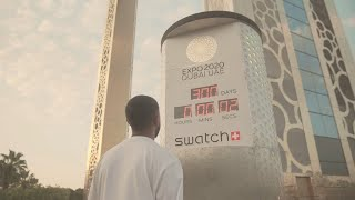 300 Days to Expo Countdown with Swatch