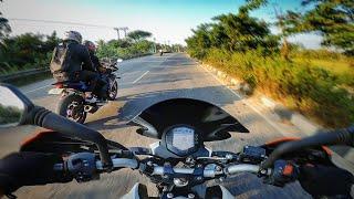 Leaving Guwahati with KTM DUKE 200 | Vlog 134