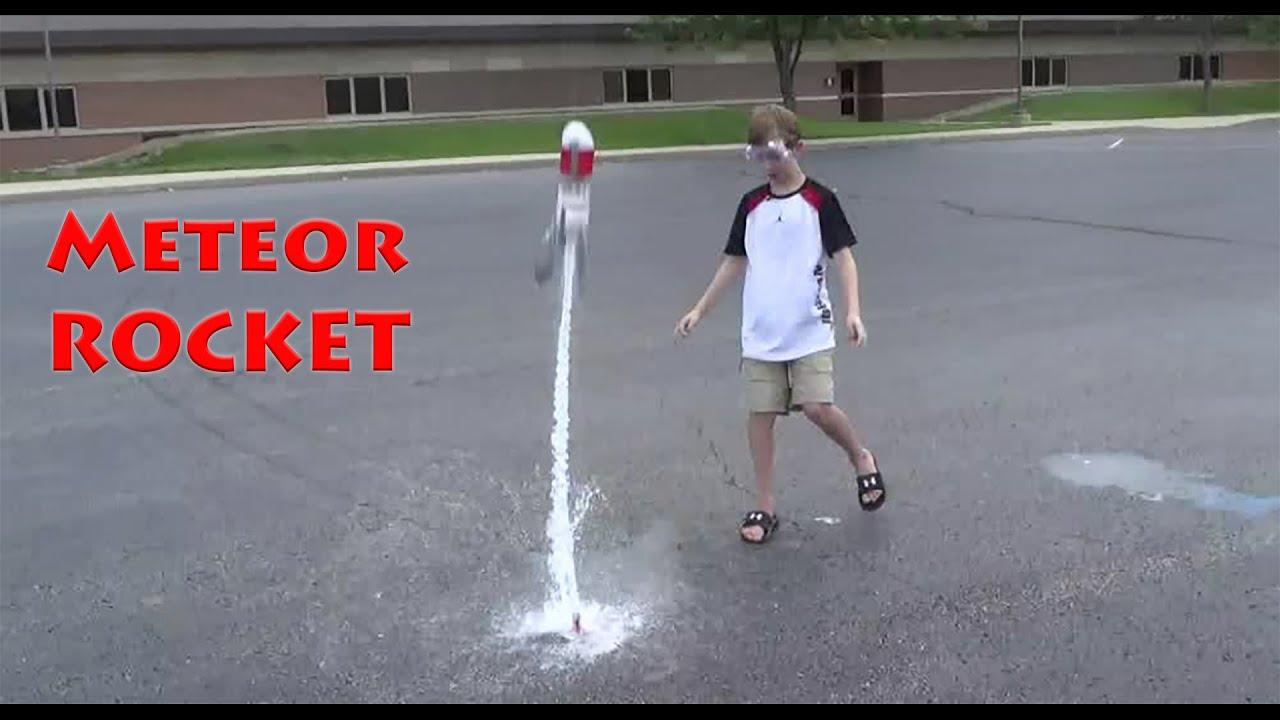 Vinegar Baking Soda Rocket Collintv Youtube