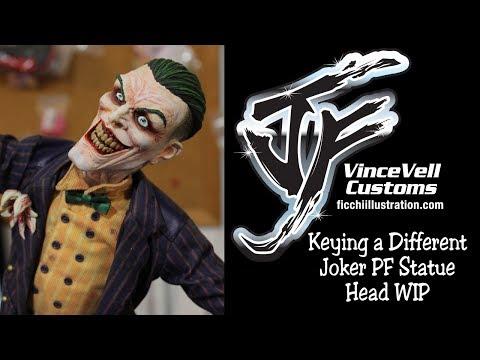Keying a Different Joker PF Statue Head WIP