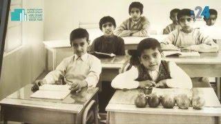 بالفيديو.. صور نادرة للشيخ محمد بن زايد وهو طالب