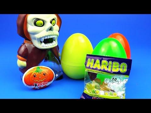 Видео, Сюрприз Яйца Киндер Конфеты Харибо Киндер Шоколад Пеппа Свинка MLP Angry Birds