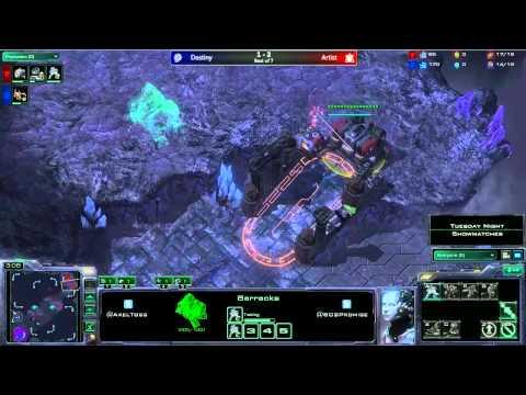 Quantic.Destiny (Z) vs EC.Artist (T) - Tuesday Night Showmatch - G4 - Bo7 - Cast by Axel and PrOmise