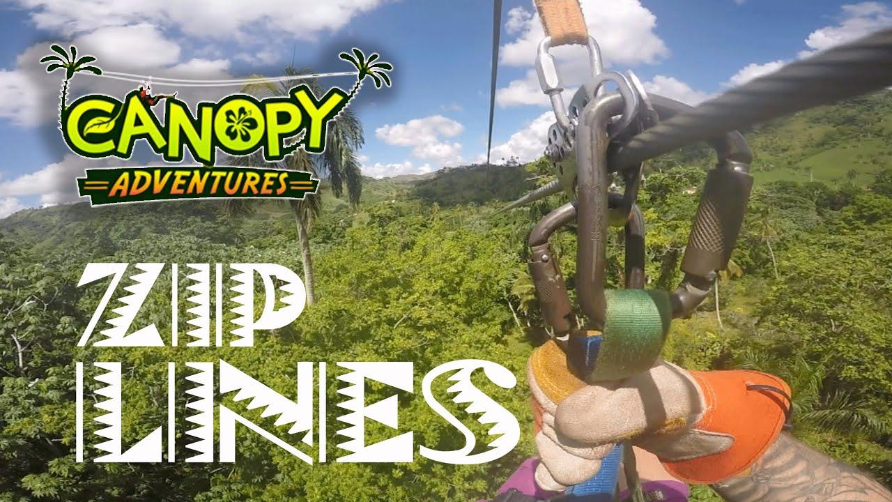 Canopy Adventure Zip Line Tours Punta Cana Dominican Republic 2015 - YouTube & Canopy Adventure Zip Line Tours Punta Cana Dominican Republic 2015 ...
