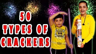 vuclip 50 TYPES OF CRACKERS | HAPPY DIWALI | BIGGEST FIRE CRACKERS Aayu and Pihu Show