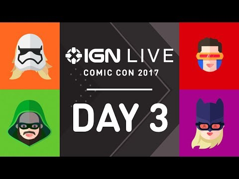 San Diego Comic Con 2017: Exclusive Access & Interviews - IGN Live (7/22)