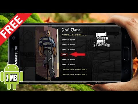 How to Skip GTA San Andreas All missions in Android || Androidgaming ||