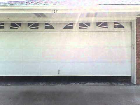 Genie Garage Door Opening Youtube
