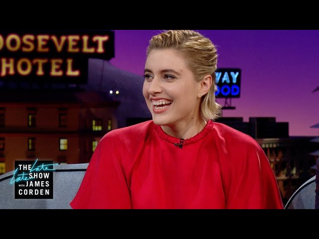 On Set, Greta Gerwig Has a Snack Combo Named After Her