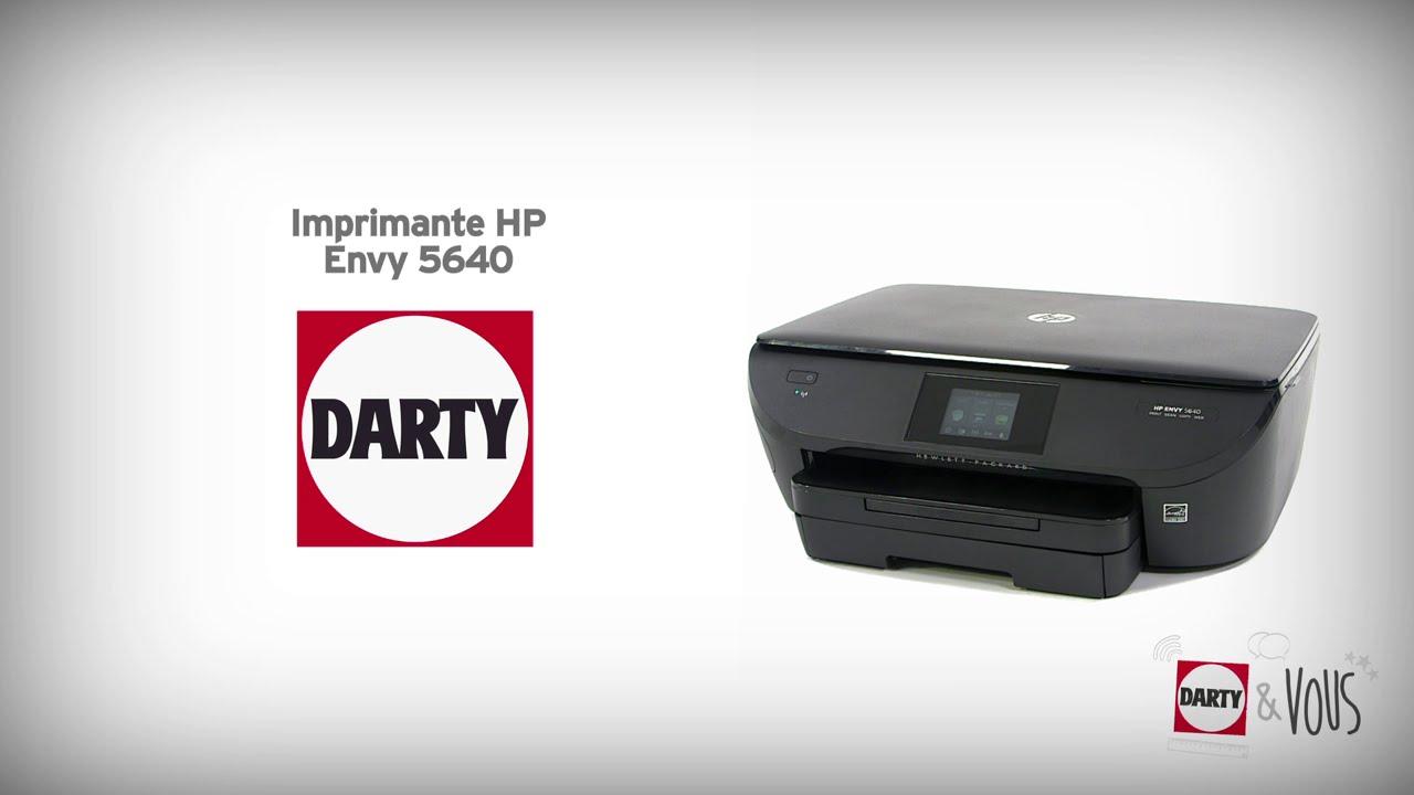imprimante hp envy 5640 d monstration darty youtube. Black Bedroom Furniture Sets. Home Design Ideas