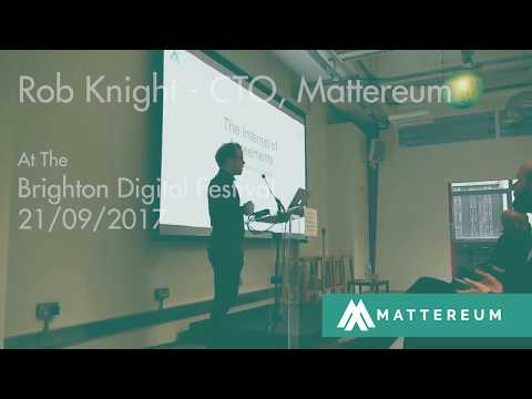 Mattereum and business on the blockchain I Rob Knight