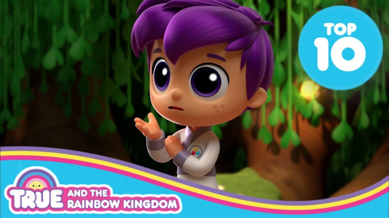 Top 10 Zee Moments | True and the Rainbow Kingdom - YouTube