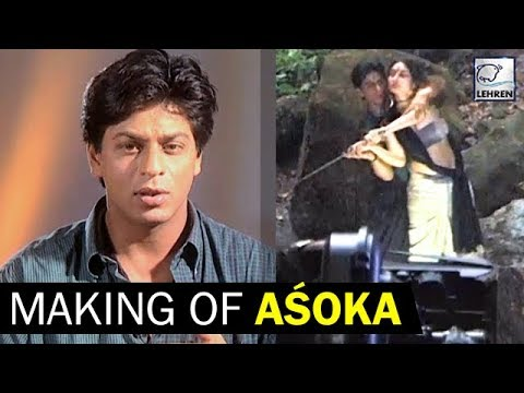 Shah Rukh Khan & Kareena Kapoor On The Sets Of 'Asoka' | Flashback Video