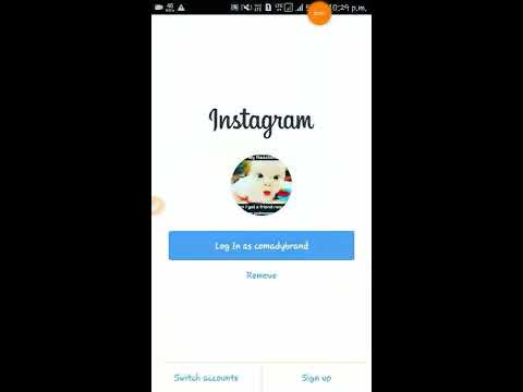 How to delete Instagram Account.